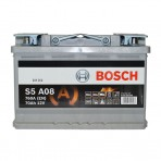 Bosch S5 AGM 70Ah R+ 760A