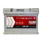 Fiamm Titanium Pro 60Ah R+ 600A (низкобазовый)