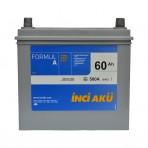 INCI-AKU Formul A 60Ah JR+ 580A