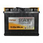 Mega Start 62Ah R+ 550A