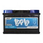 Topla TOP 75Ah R+  720A (низкобазовый)
