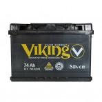 Viking Silver 74Ah R+ 750A