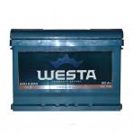 WESTA 60Ah R+ 600A (низкобазовый)