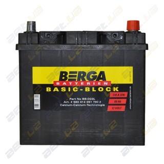 Berga Basic 60Ah JR+ 510A (EN)