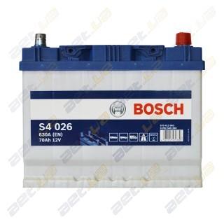 Аккумулятор Bosch S4 70 A h