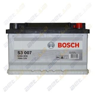Аккумулятор Bosch S3 70 A h