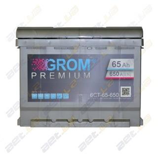 Grom 65Ah R+ 650A
