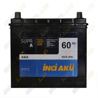 INCI-AKU Supr A 60Ah JL+ 580A