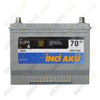 INCI-AKU Supr A 70Ah JL+ 680A