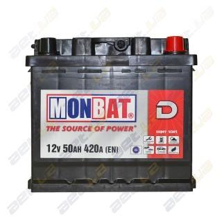 Автомобильный аккумулятор Монбат(Monbat) от AET.UA