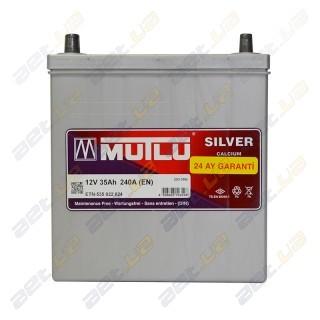 Mutlu Silver Calcium 35Ah JL+ 240A (тонкая клемма)