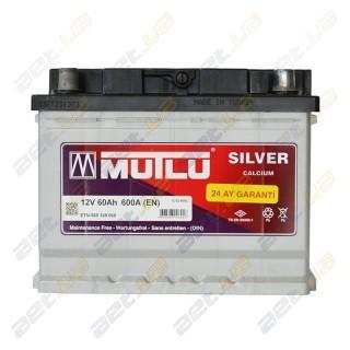 Mutlu Silver Calcium 60Ah R+ 600A