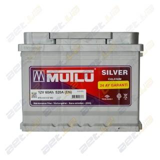 Mutlu Silver Calcium 60Ah R+ 520A