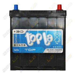 Topla TOP 35Ah JR+ 240A (тонкая клемма)