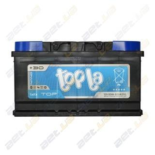 Topla TOP 85Ah R+ 800A (низкобазовый)