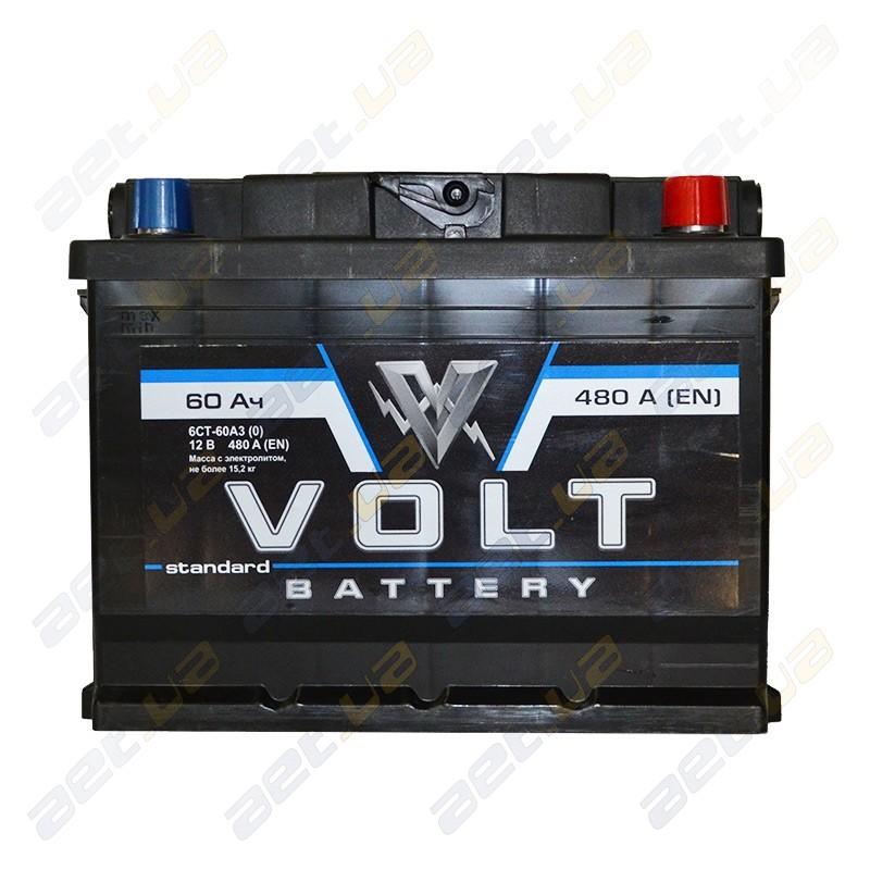Автомобильные аккумуляторы Volt в Киеве