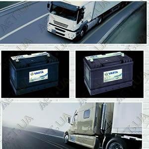 Аккумуляторы Varta Black Dynamic в Киеве для грузовых автомобилей