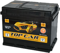 аккумуляторы автомобильные Top Car 60Ah R+ 510A