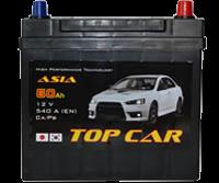 купить аккумулятор Top Car Asia 60Ah JR+ 540A