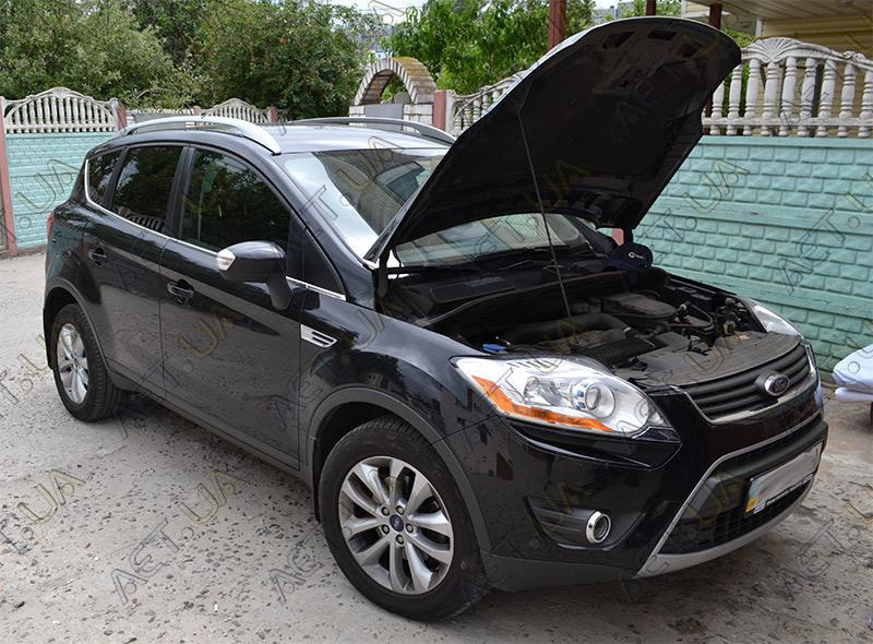 Установка аккумулятора на Ford Kuga 2.5 бензин - 1