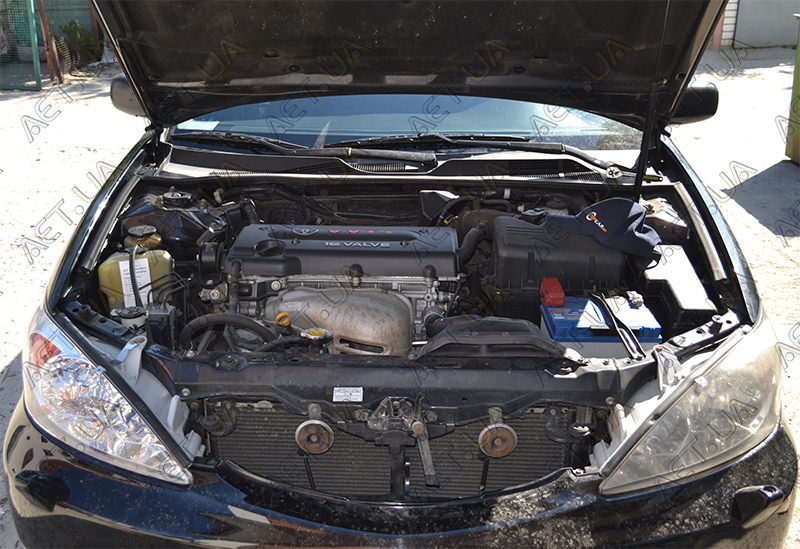 Автомобильный аккумулятор на Toyota Camry (Тойота Камри 30) 2.4 бензин - 2