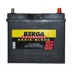 Berga Basic 45Ah JR+ 330A (тонкая клемма)