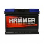 Hammer 62Ah R+ 600A