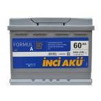 INCI-AKU Formul A 60Ah R+ 540A