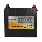 Mega Start 60Ah JR+ 450A