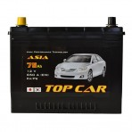 TOP CAR Asia 75Ah JL+ 650A