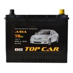 TOP CAR Asia 75Ah JR+ 650A