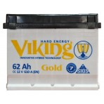 Viking Gold 62Ah R+ 610A
