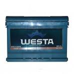 WESTA 60Ah L+ 600A (низкобазовый)
