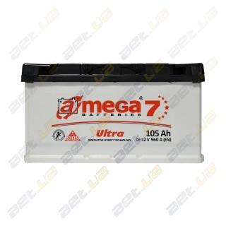 Автомобильный аккумулятор Amega 6СТ-105Ah R+ 960A Ultra M7, купить, цена, характеристики, фото