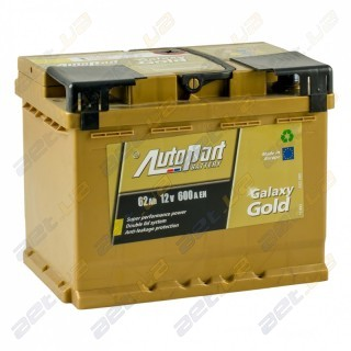 AutoPart Gold 62Ah R+ 600A