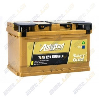 AutoPart Gold 77Ah R+ 800A (низкобазовый)