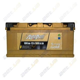 AutoPart Gold 100Ah R+ 900A (низкобазовый)