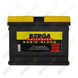 Berga Basic 60Ah L+ 540A