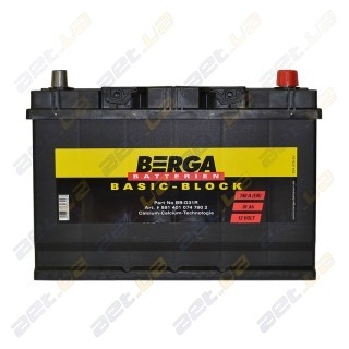 Berga Basic 95Ah JR+ 830A (EN)
