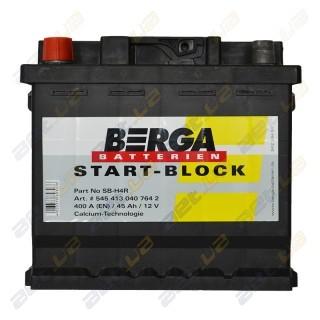 Berga Start 45Ah L+ 400A