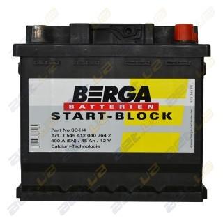 Berga Start 45Ah R+ 400A