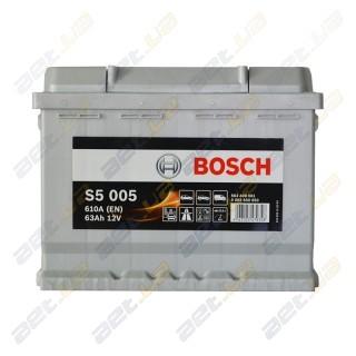 Bosch S5 63Ah R+ 610A