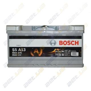 Bosch S5 AGM 95Ah R+ 850A