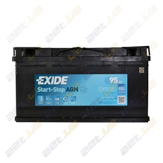 Exide Start-Stop AGM 70Ah R+ 760A