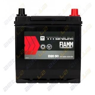 Fiamm Black Titanium 50AH JR+ 420A