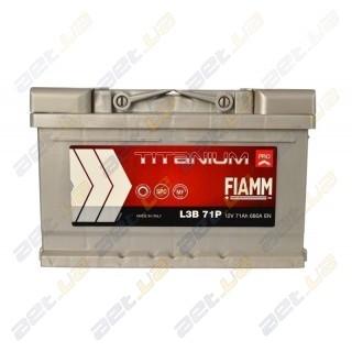 Fiamm Titanium Pro 71Ah R+ 680A (низкобазовый)