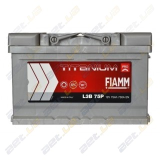Fiamm Titanium Pro 75Ah R+ 730A (низкобазовый)