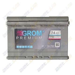 Grom 75Ah R+ 750A