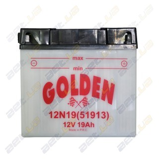 Golden 12N19 (51913) 12v 19Ah R+