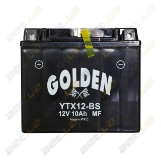 Golden YTX12-BS 12v 10Ah L+